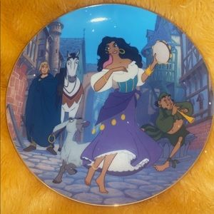 Hunchback of Norte Dame Plate